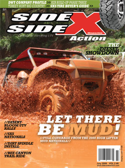 Side x Side Action Magazine - June 2008